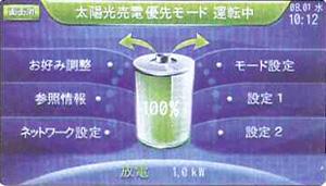 太陽光売電優先モード